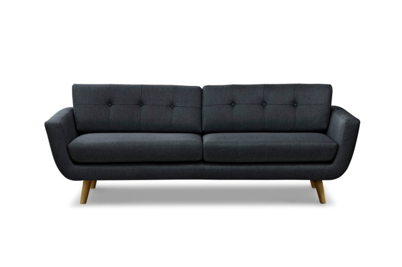 sofakompagniet mørkegrå sofa