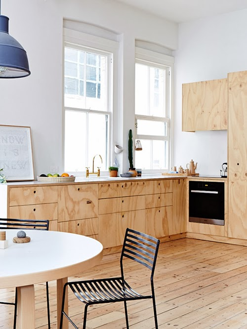 plywood kitchen homesick