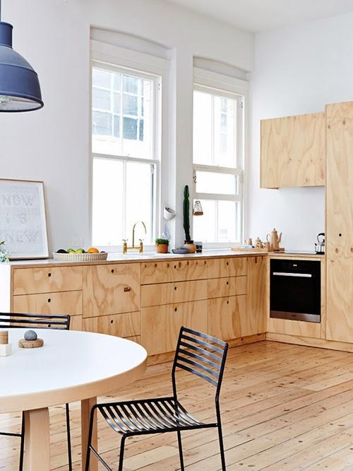 plywood kitchen homesick
