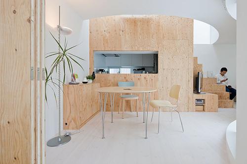 plywood kitchen køkken design-milk