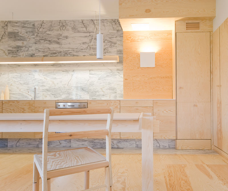 plywood kitchen køkken ideastosteal