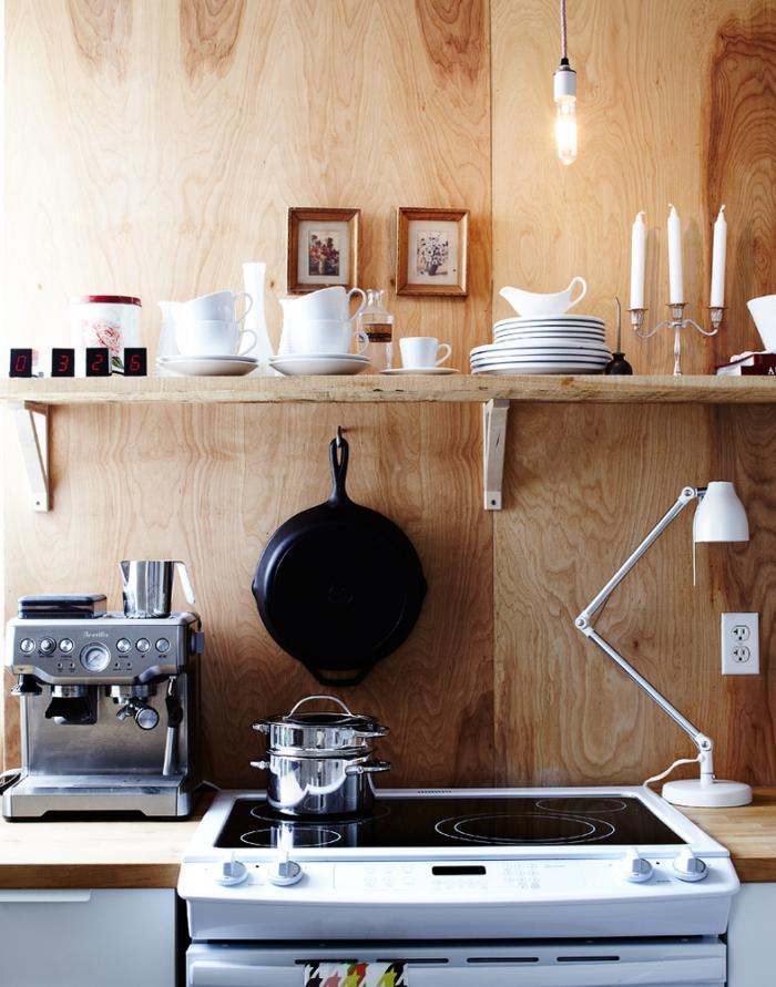 plywood kitchen køkken remodelista