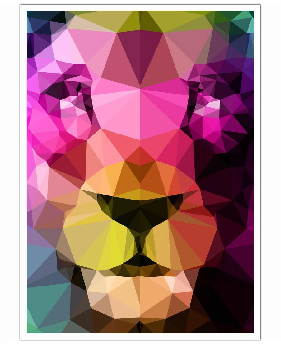 junique løveplakat