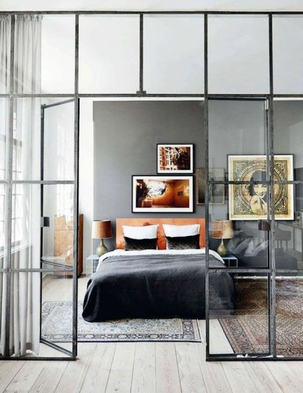 fabriksvinduer væg interiorwalldesigns
